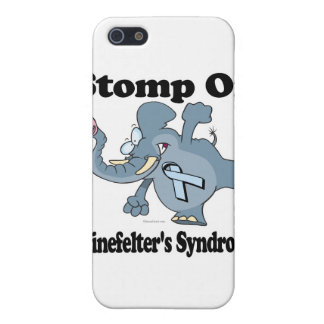 Elephant Stomp On Klinefelters Syndrome iPhone 5 Covers