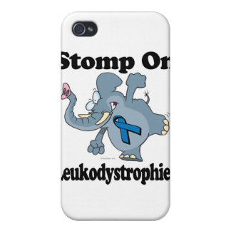 Elephant Stomp On Leukodystrophies iPhone 4 Covers