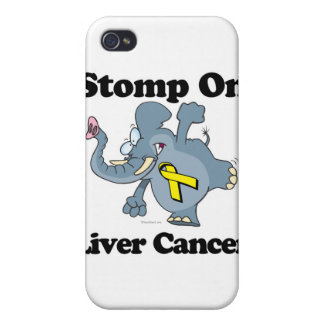 Elephant Stomp On Liver Cancer iPhone 4/4S Cover