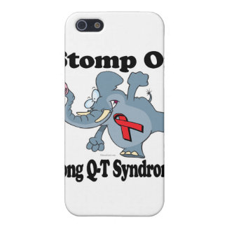 Elephant Stomp On Long Q-T Syndrome Case For iPhone 5