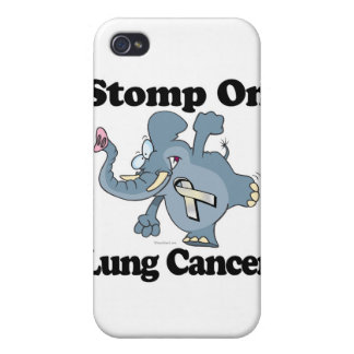 Elephant Stomp On Lung Cancer iPhone 4 Covers