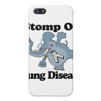 Elephant Stomp On Lung Disease iPhone 5 Cover