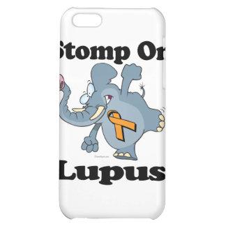 Elephant Stomp On Lupus iPhone 5C Cases