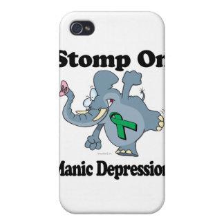 Elephant Stomp On Manic Depression iPhone 4 Covers