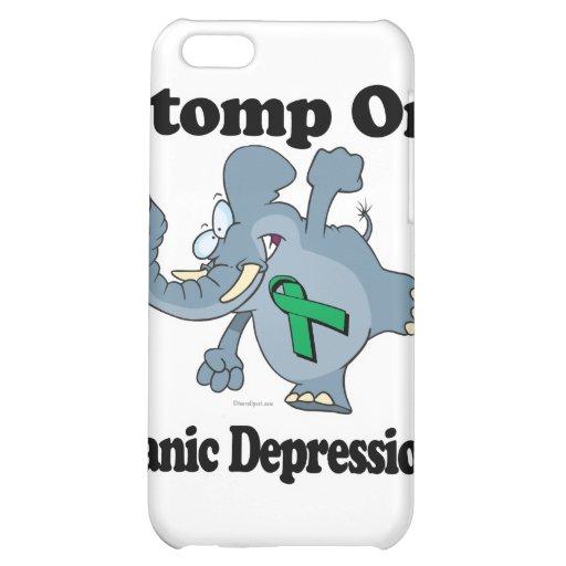 Elephant Stomp On Manic Depression iPhone 5C Cases