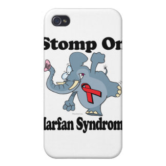 Elephant Stomp On Marfan Syndrome iPhone 4 Covers