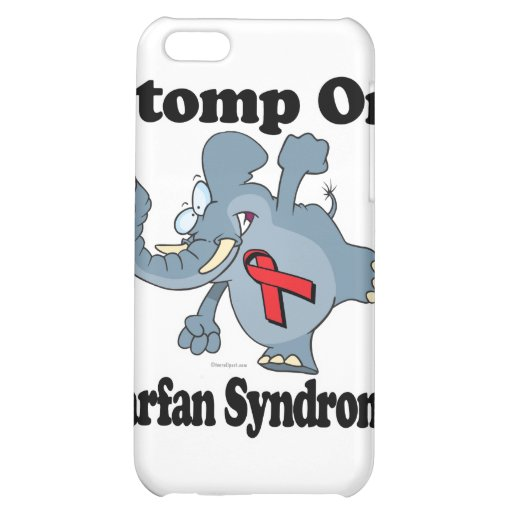 Elephant Stomp On Marfan Syndrome iPhone 5C Cases