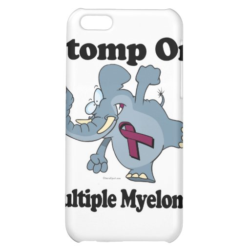 Elephant Stomp On Multiple Myeloma Cover For iPhone 5C