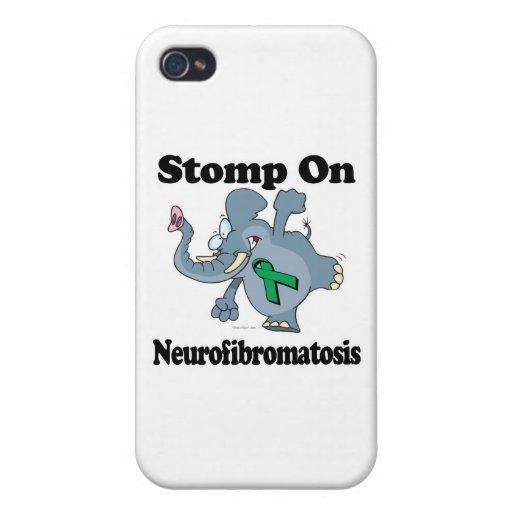 Elephant Stomp On Neurofibromatosis iPhone 4 Covers
