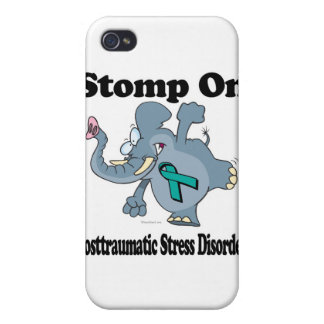 Elephant Stomp On Posttraumatic Stress Disorder iPhone 4 Case