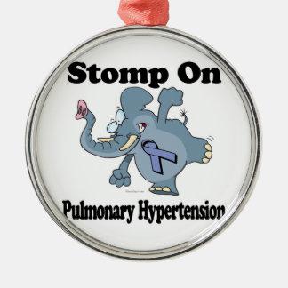 Elephant Stomp On Pulmonary Hypertension Christmas Ornament