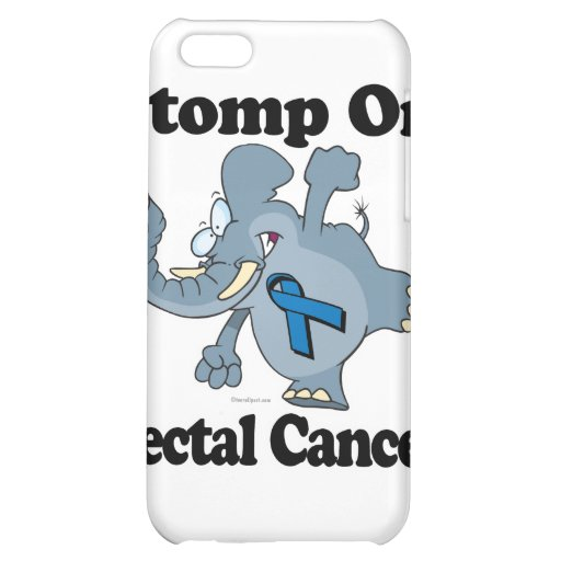 Elephant Stomp On Rectal Cancer Case For iPhone 5C