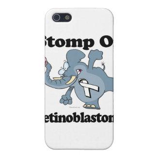Elephant Stomp On Retinoblastoma iPhone 5 Cases
