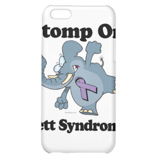 Elephant Stomp On Rett Syndrome Cover For iPhone 5C