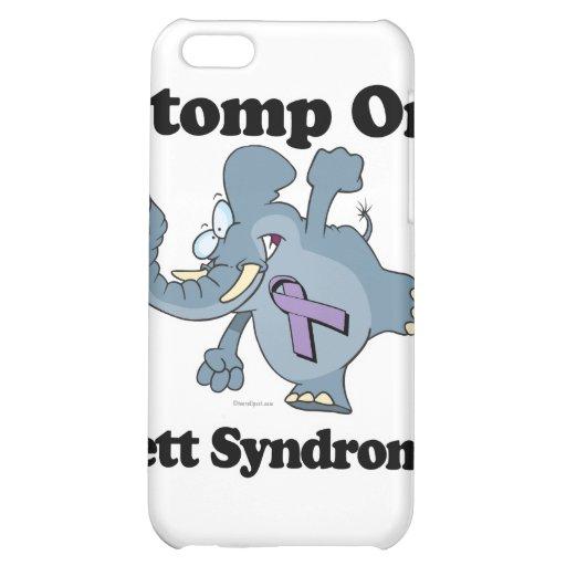 Elephant Stomp On Rett Syndrome iPhone 5C Cases