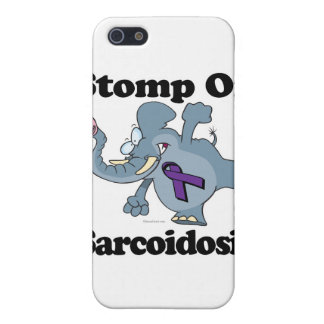 Elephant Stomp On Sarcoidosis iPhone 5/5S Cases