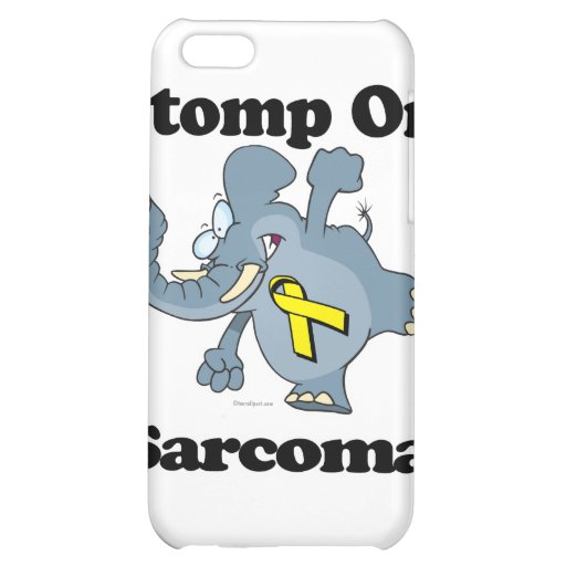 Elephant Stomp On Sarcoma Cover For iPhone 5C