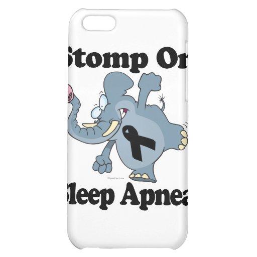 Elephant Stomp On Sleep Apnea iPhone 5C Case