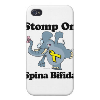 Elephant Stomp On Spina Bifida Case For iPhone 4