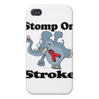 Elephant Stomp On Stroke iPhone 4 Cover