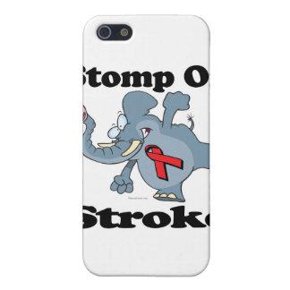 Elephant Stomp On Stroke iPhone 5/5S Case