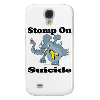 Elephant Stomp On Suicide Samsung Galaxy S4 Cover