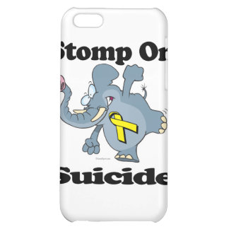 Elephant Stomp On Suicide iPhone 5C Cover