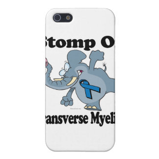 Elephant Stomp On Transverse Myelitis iPhone 5/5S Cover
