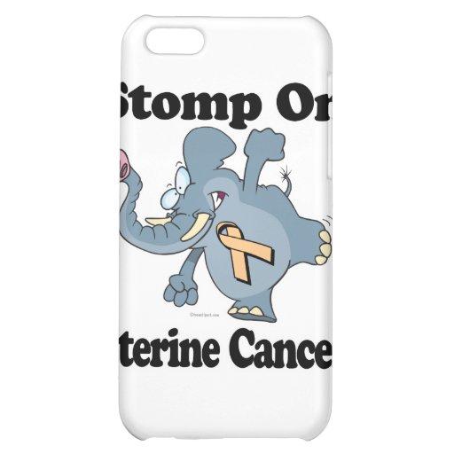 Elephant Stomp On Uterine Cancer Case For iPhone 5C