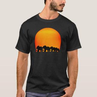 elephant sunrise t-shirt