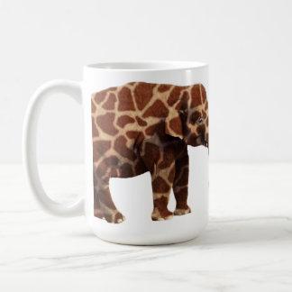 Elephant That Thinks Its a Giraffe Classic White Coffee Mug