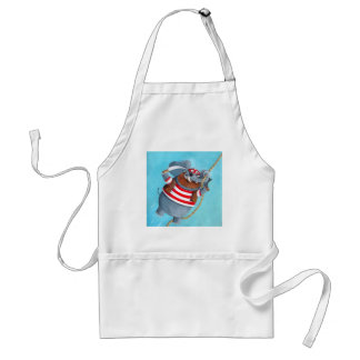 Elephant - The Best Pirate Animal Standard Apron