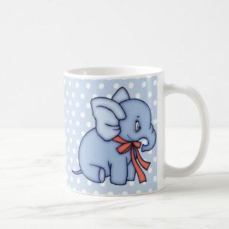 Elephant Toy Blue Mug