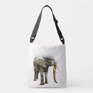 Elephant Transformation Crossbody Bag