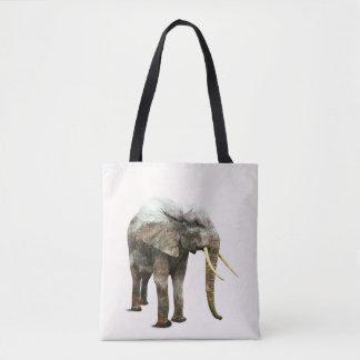 Elephant Transformation Tote Bag
