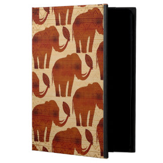 Elephant Tribal Art Design Cover For iPad Air