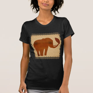 Elephant Tribal Art Design T-Shirt