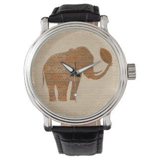 Elephant Tribal Art Design Watches