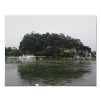 Elephant Trunk Hill (Guilin, China) Poster