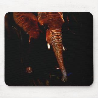 Elephant trunk mouse pad