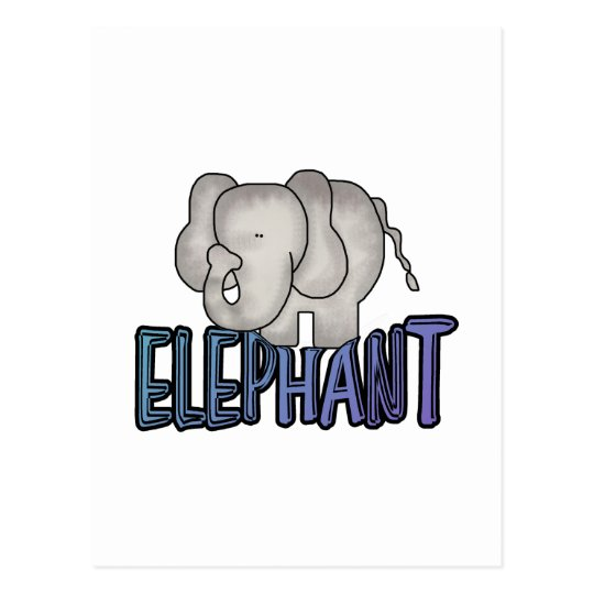 Elephant Tshirts and Gifts Postcard