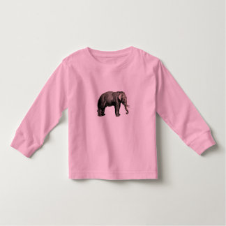 Elephant Vintage Illustration India Animal Antique Toddler T-Shirt