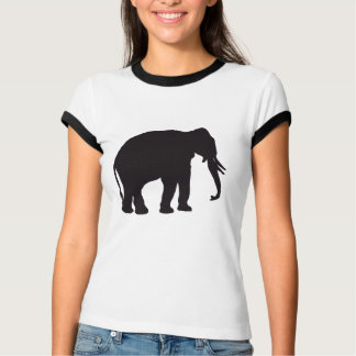 Elephant Vintage Wood Engraving T-Shirt