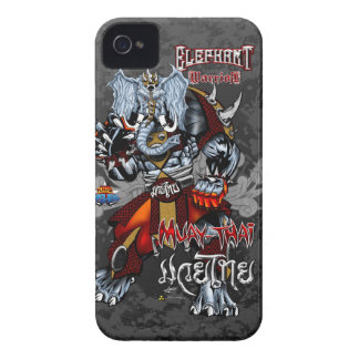 Elephant Warrior - Muay-Thai - iPhone 4/4s iPhone 4 Cases