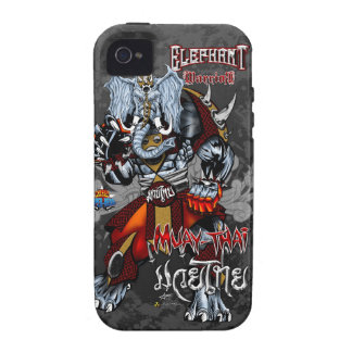Elephant Warrior - Muay-Thai - iPhone 4 iPhone 4/4S Covers