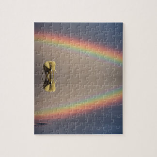 Elephant, water, and rainbow, Kenya Puzzle