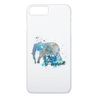 Elephant Water Color iPhone 8 Plus/7 Plus Case