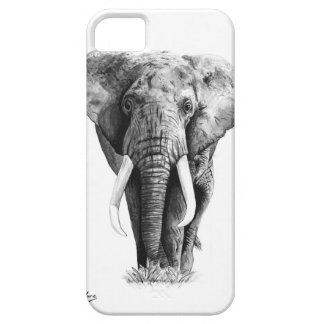 Elephant Watercolour iPhone 5 Cases