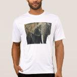 """Elephant"" Wildlife Animal Watercolor T-shirt"