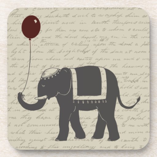 Elephant with Balloon Coaster
